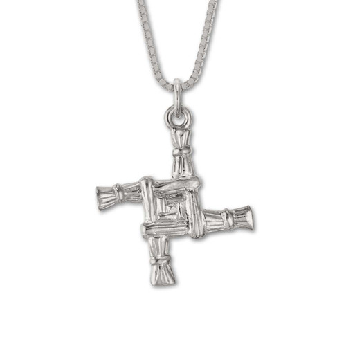 Sterling Silver Brigid's Cross Pendant jewelery