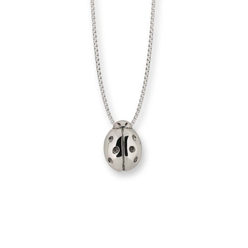 Sterling Silver Ladybug Pendant