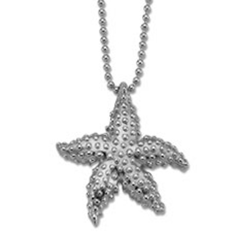 Handcrafted Sterling Silver Starfish Pendant