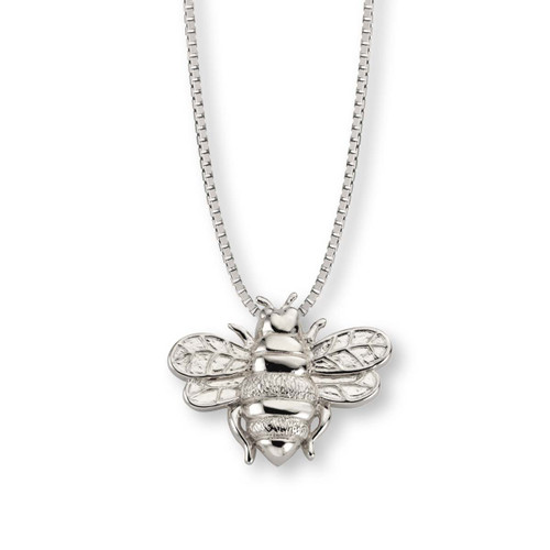 Sterling Silver Good Luck Bee Pendant