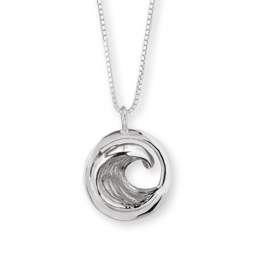 Sterling Silver Perfect Wave Pendant