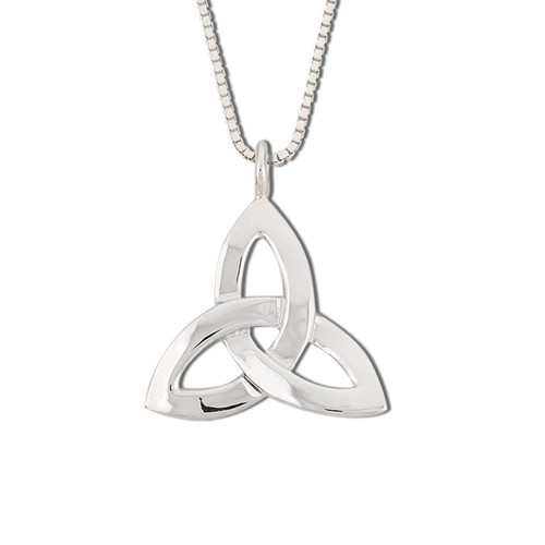 Classic Sterling Silver Celtic Knot Pendant