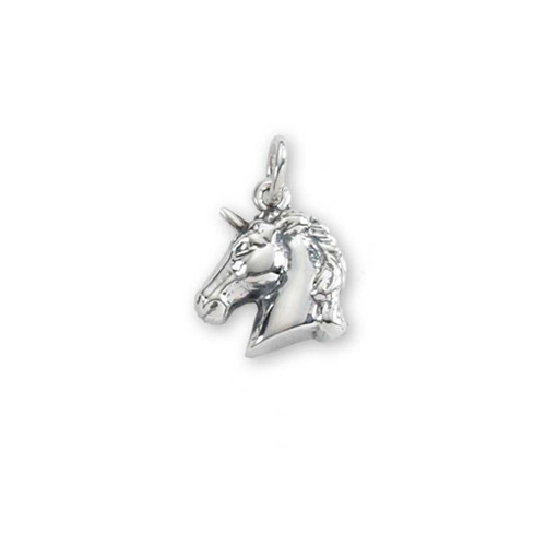 Magical Sterling Silver Unicorn Pendant