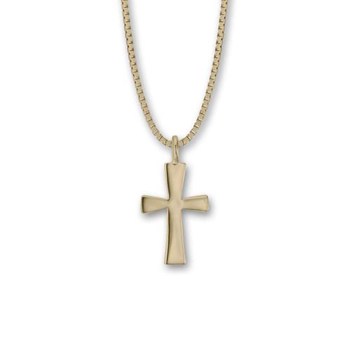 14kt First Cross Pendant