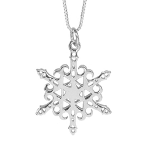 Sterling Silver 2012 Snowflake Lighthouse Pendant