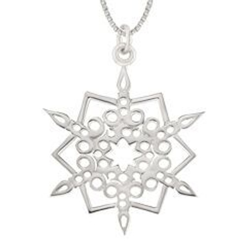 Sterling Silver 2016 Candlelight Pendant