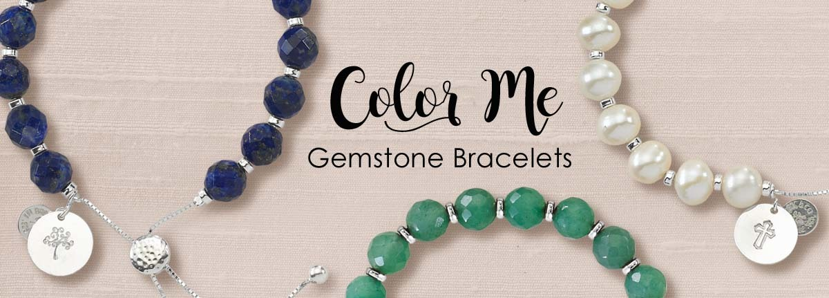 Color Me Gem Bracelets