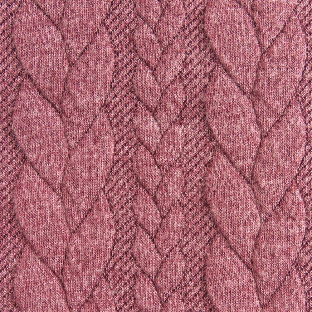 rose cable knit
