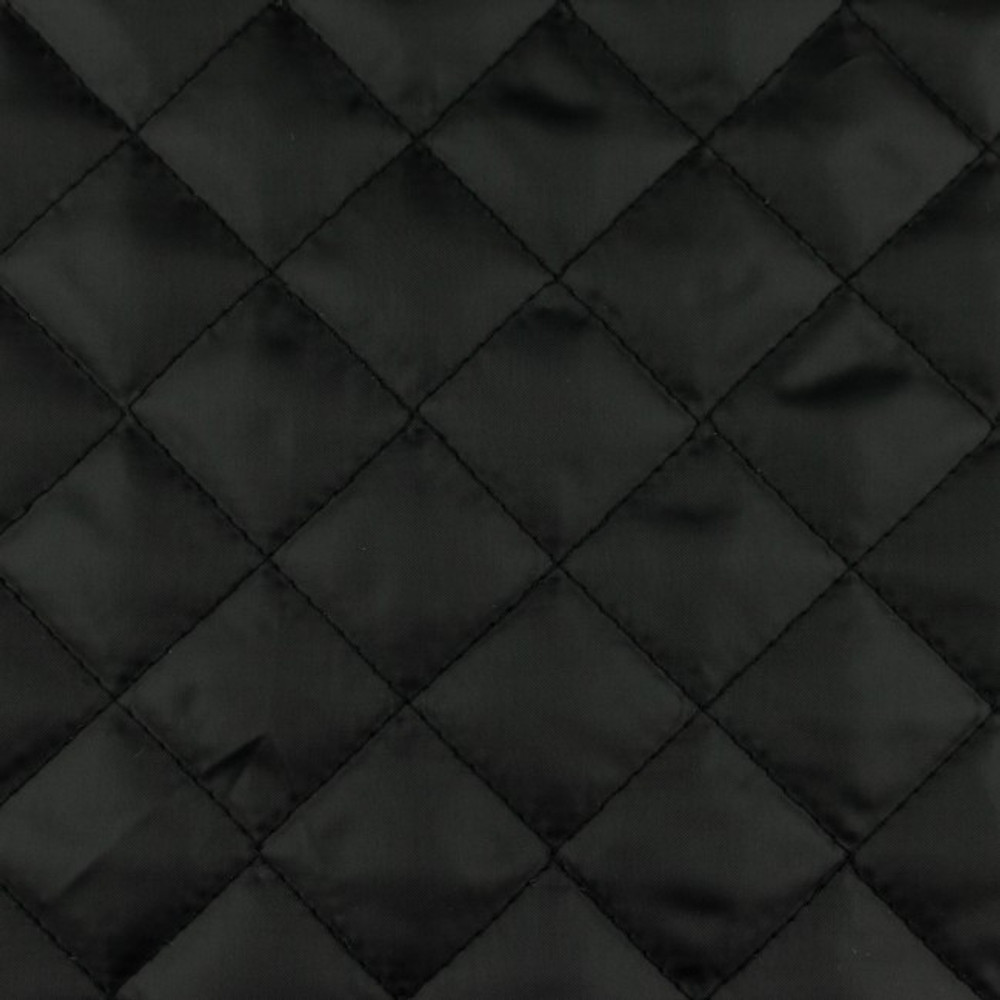 Black Quilted Lining