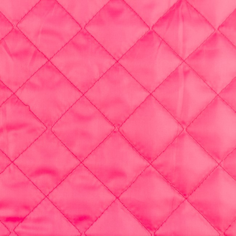 Pink Quilted Lining