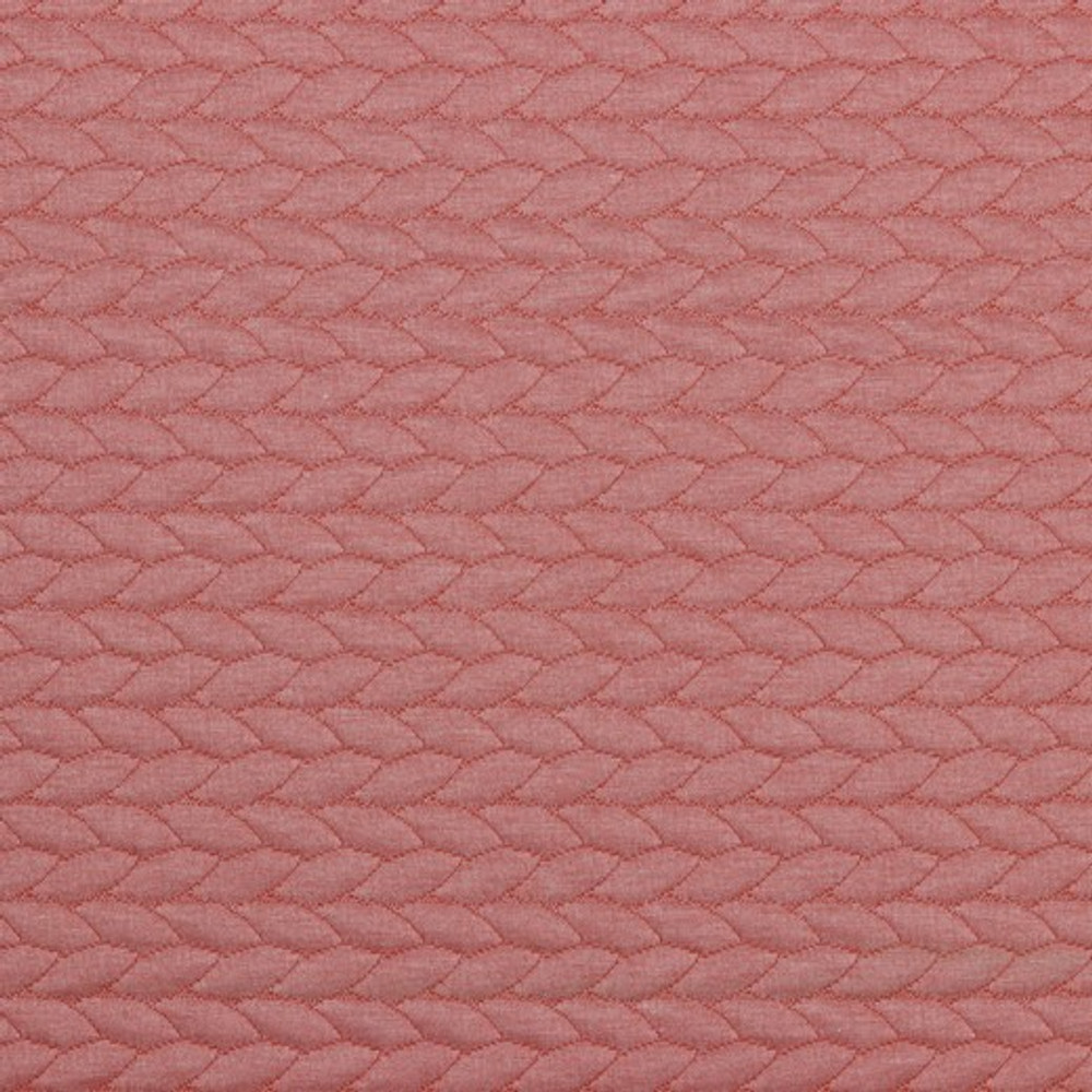 Rose Quilted Cable Knit