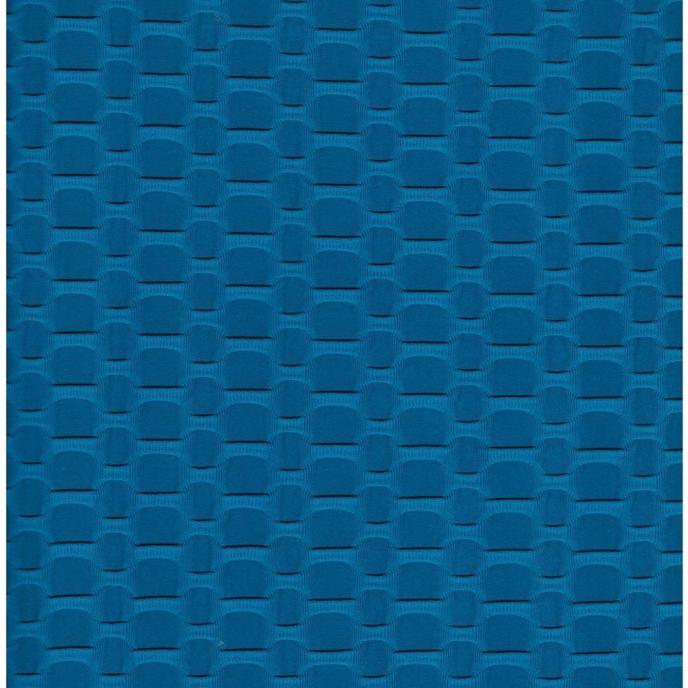 Teal Honeycomb Athletic Knit