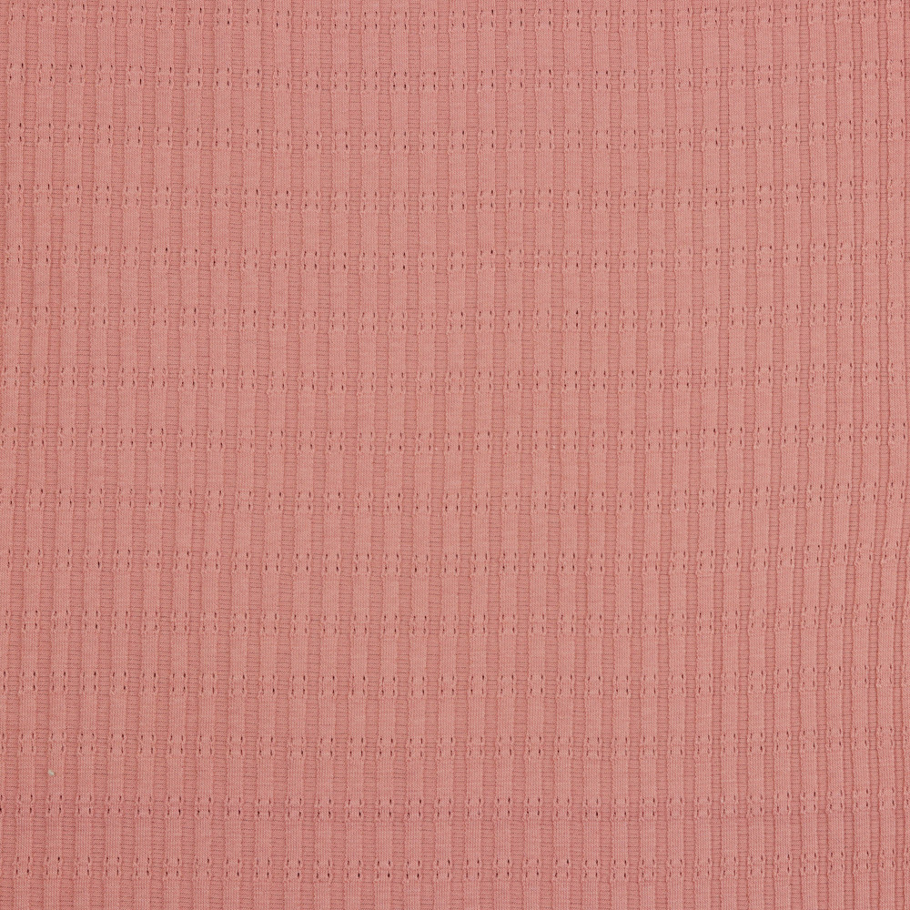 Mauve Cotton Rib
