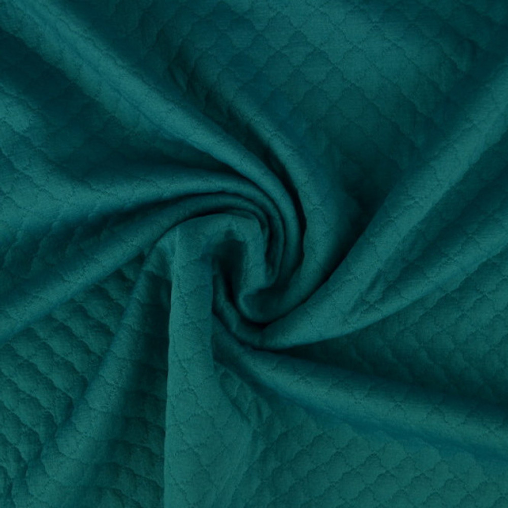 Jade Quilted Knit
