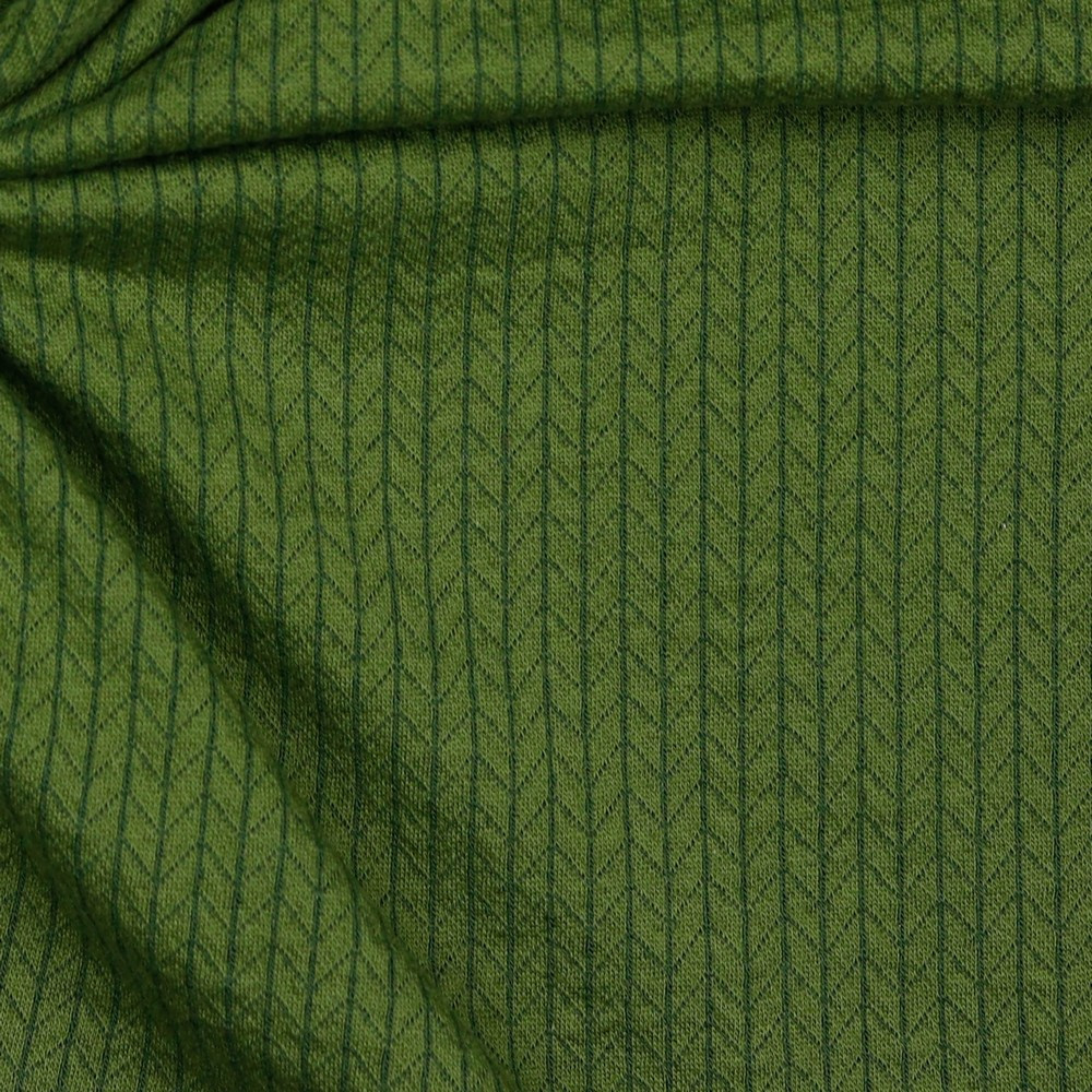 Olive Green on Recycled Cotton Cable