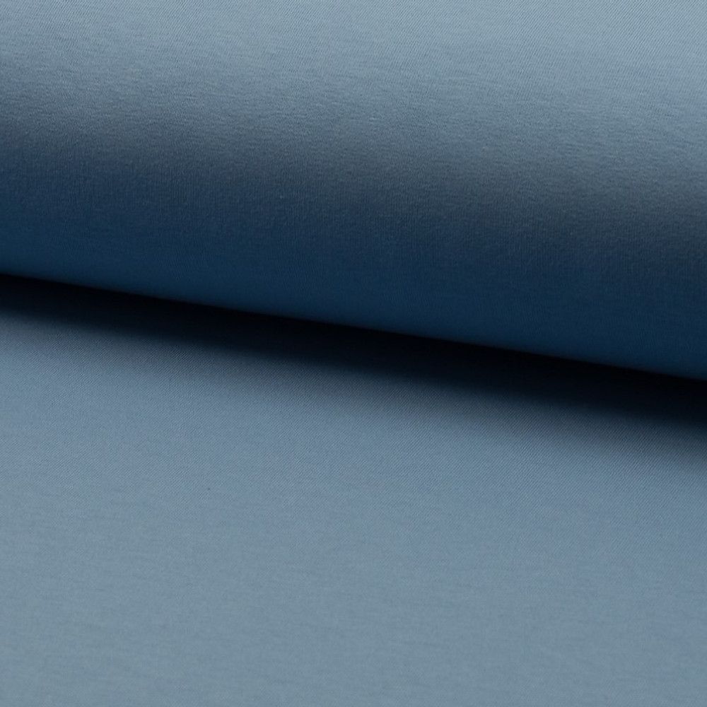 Dusty Blue Brushed French Terry QT