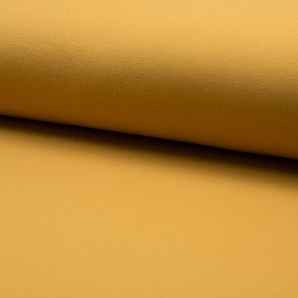 Ochre Brushed French Terry QT