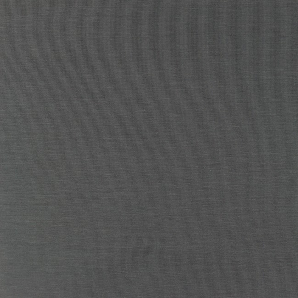 Middle Gray Bamboo Jersey Knit