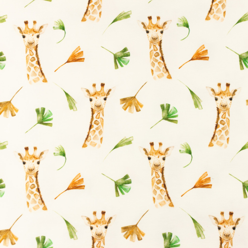 Hello Giraffe Cotton Lycra Knit