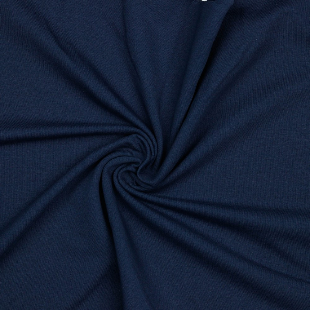 Euro Knits Navy Organic French Terry