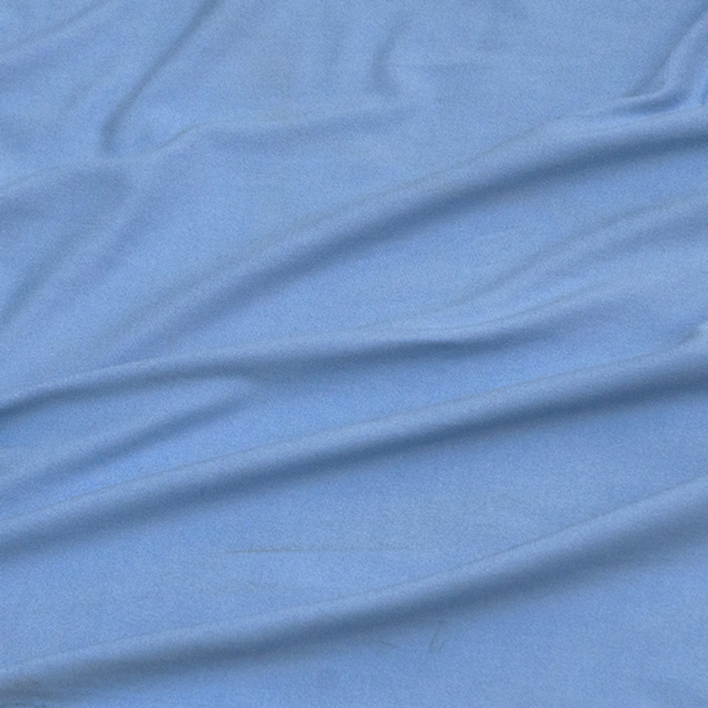 Light Blue Double Brushed Poly