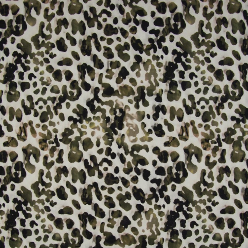 Leopard Print on Athletic Knit