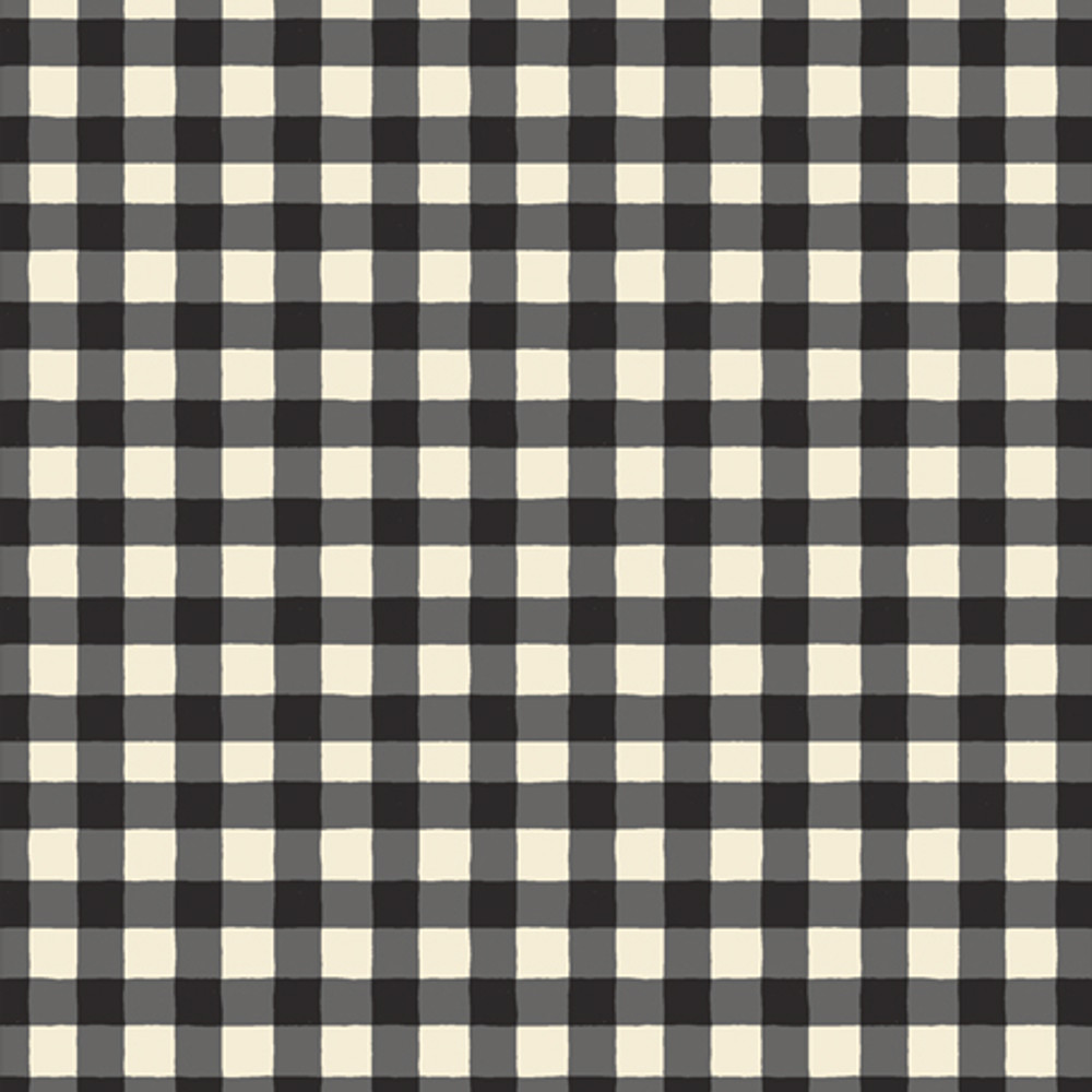 Art Gallery Small Plaid of My Dreams Snow Quilting Cotton