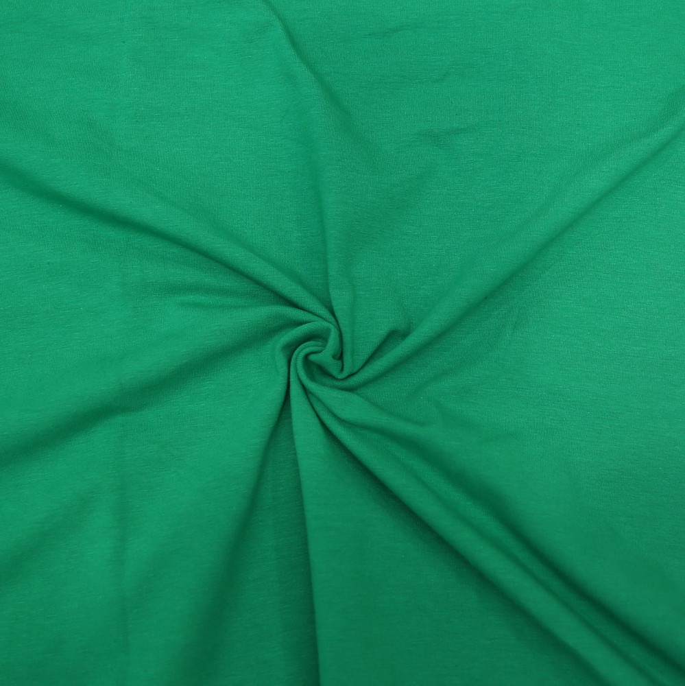 kelly green knit fabric