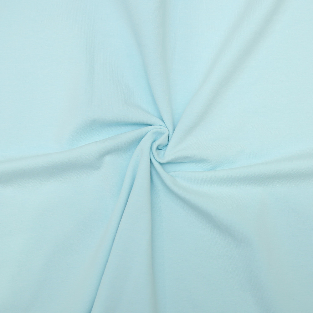baby blue knit fabric