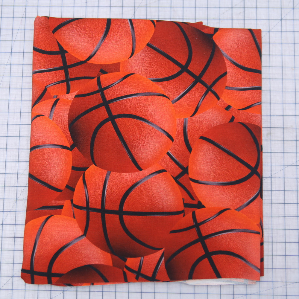 Basketball knit fabric