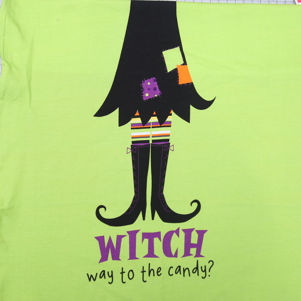 Witch way to the candy? fabric