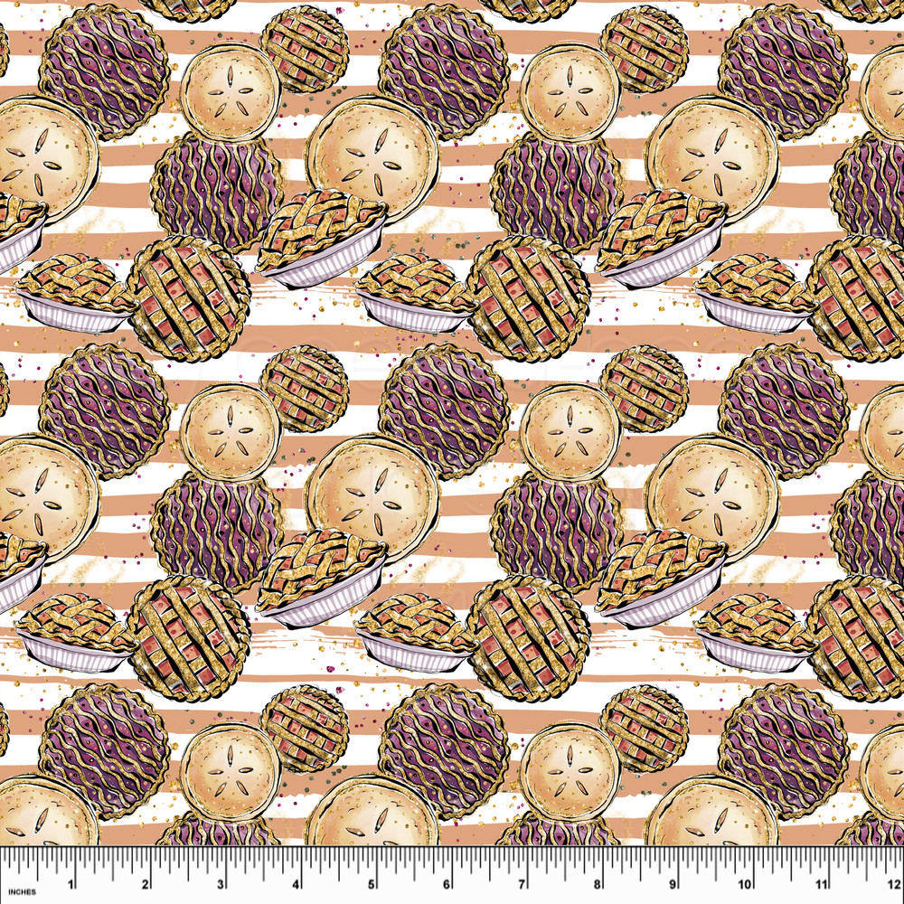 Pies knit fabric