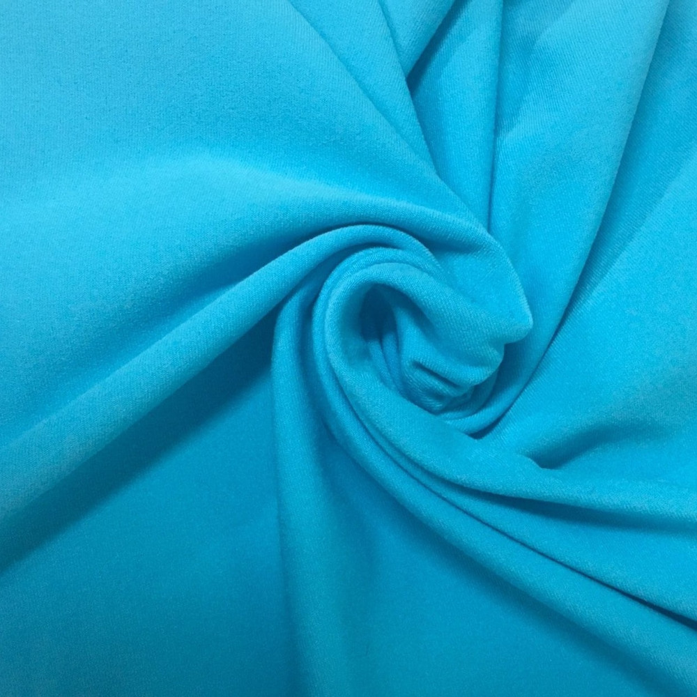 Jersey Moss Athletic Knit in Bright Turquoise