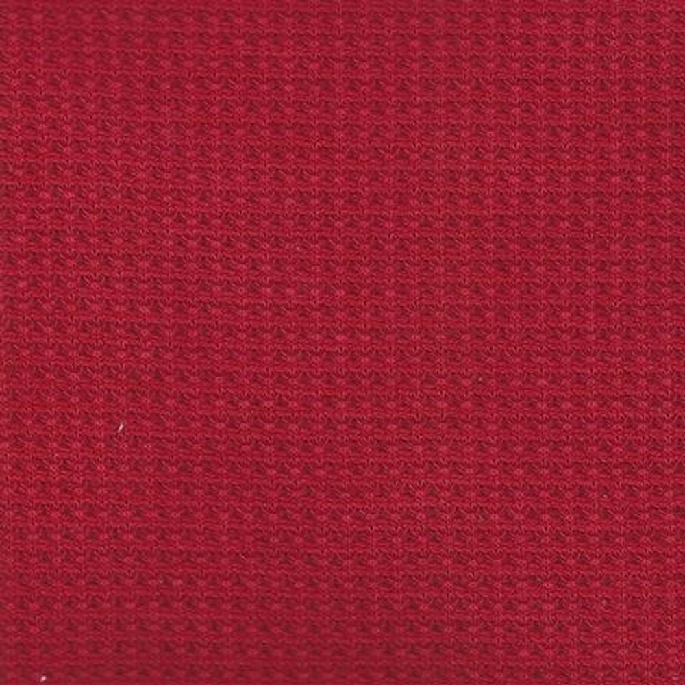 Red thermal knit