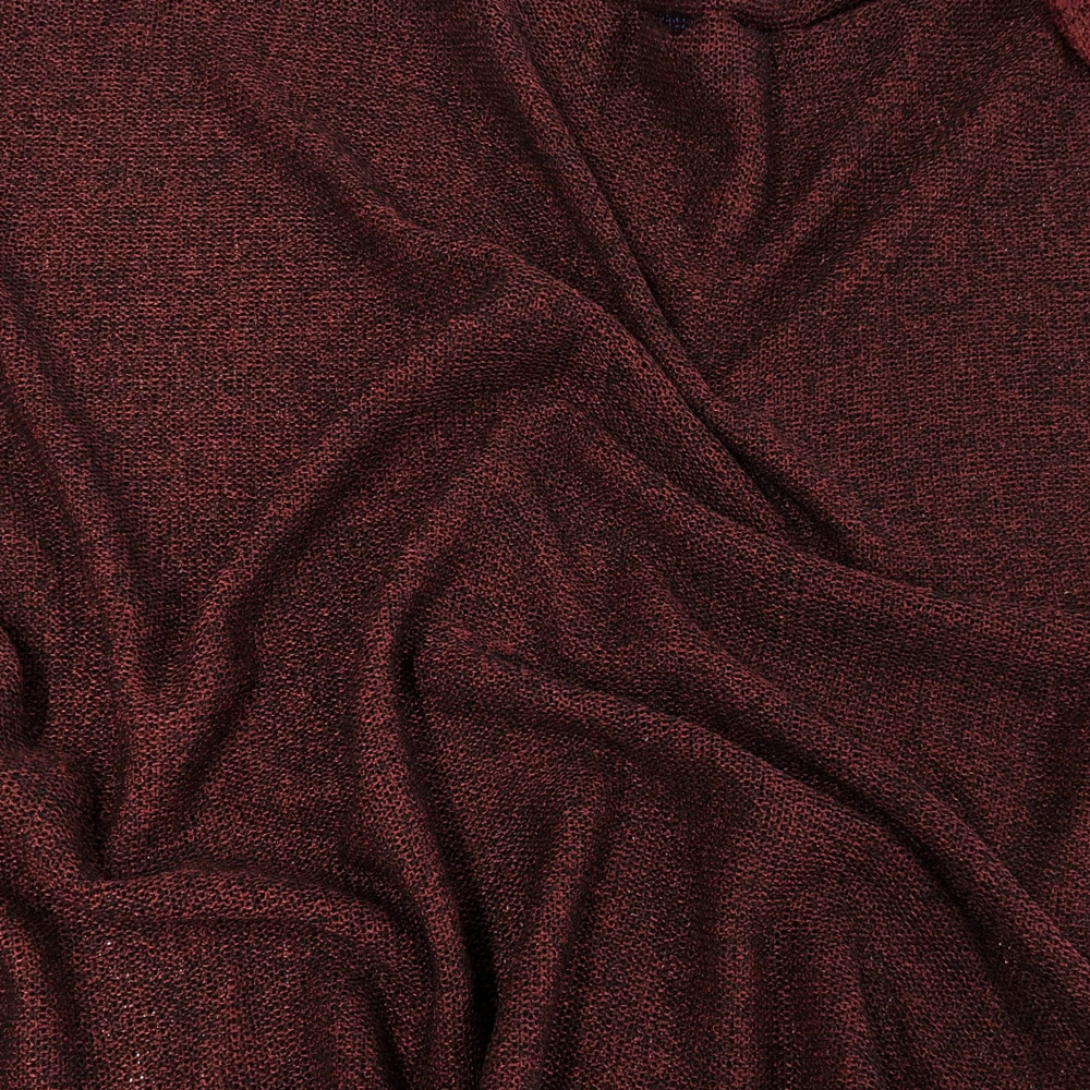 Cranberry sweater knit
