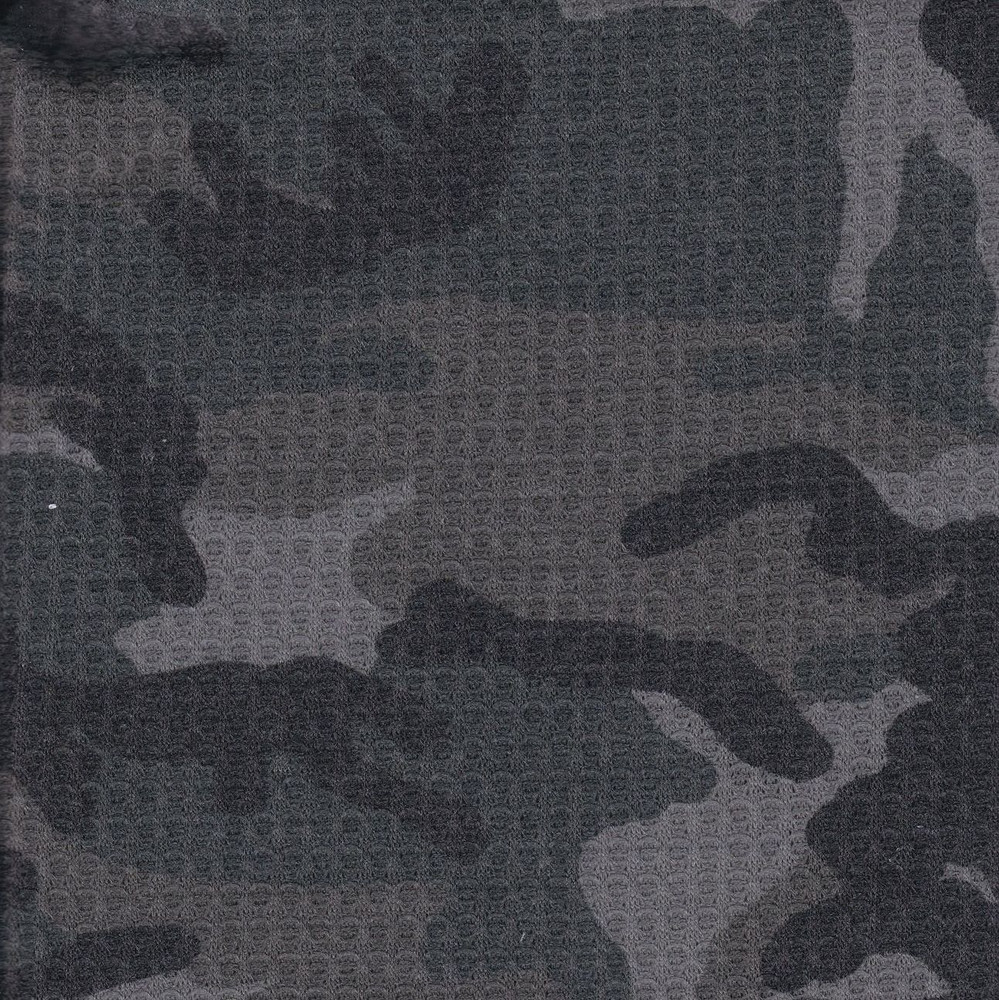 Camouflage thermal knit