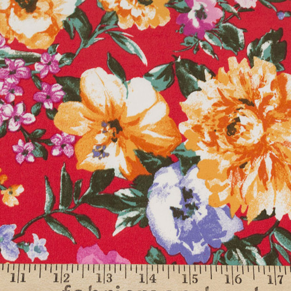 red floral dbp