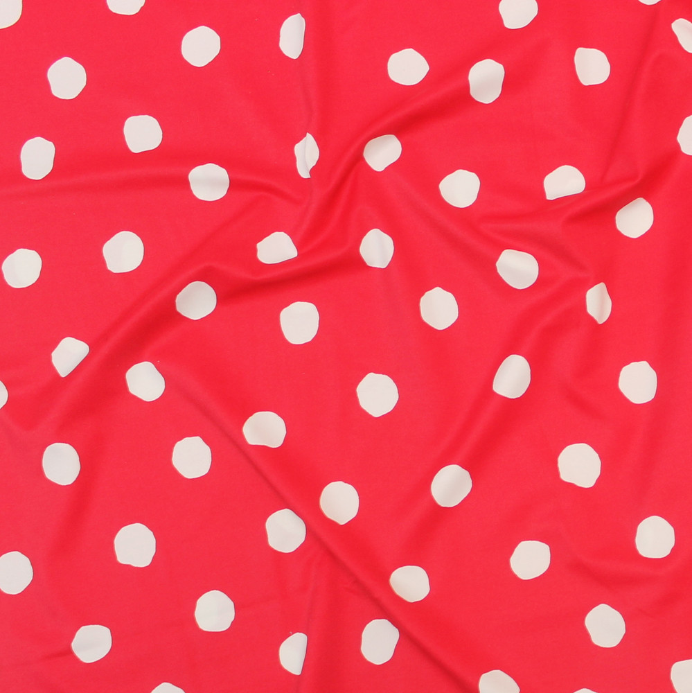 red abstract swim