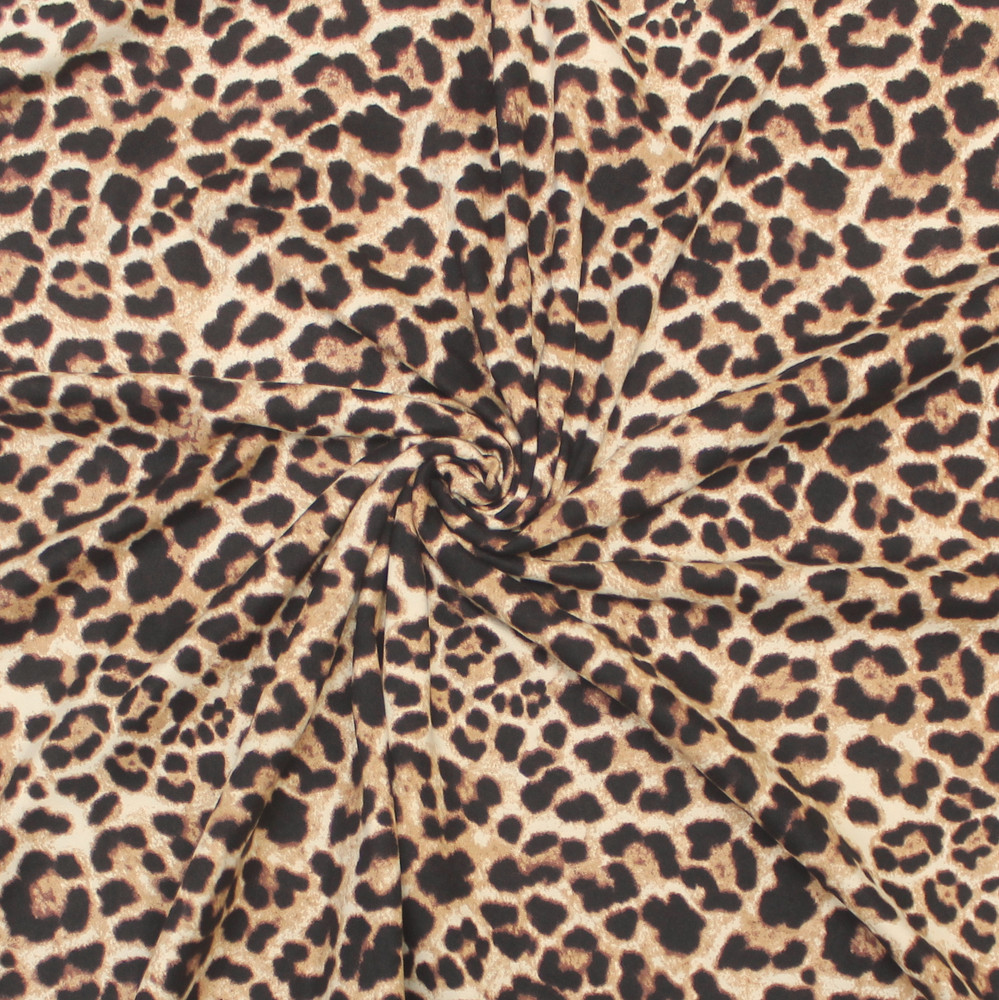 Cheetah Double Brushed Poly