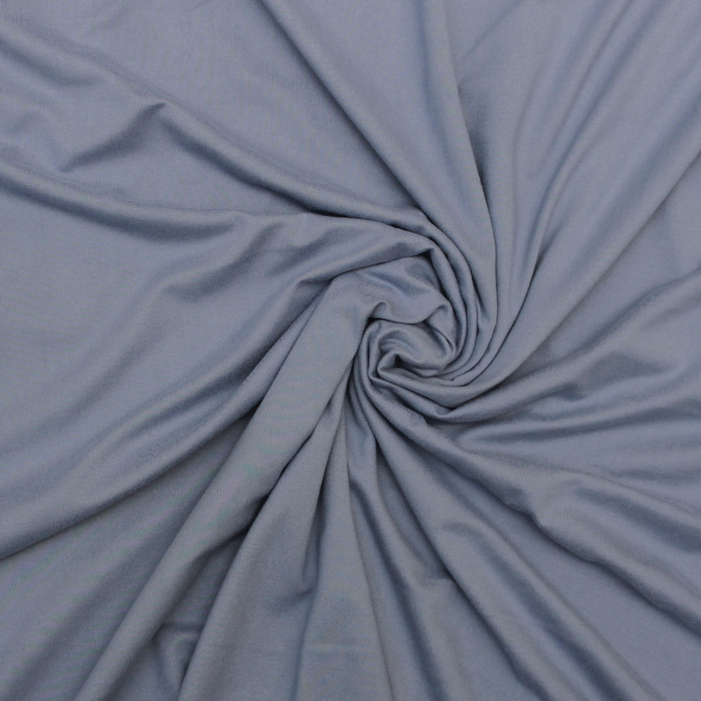 Dusty Blue Double Brushed Poly