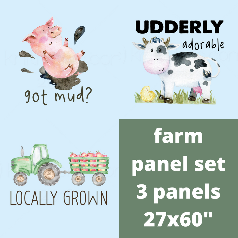 Custom Farm Panel Set