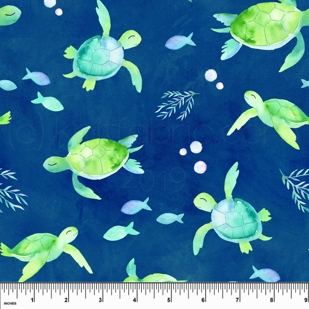 Swim Shop Sea Turtles Board Short Fabric