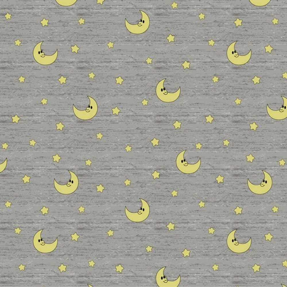 moons on gray