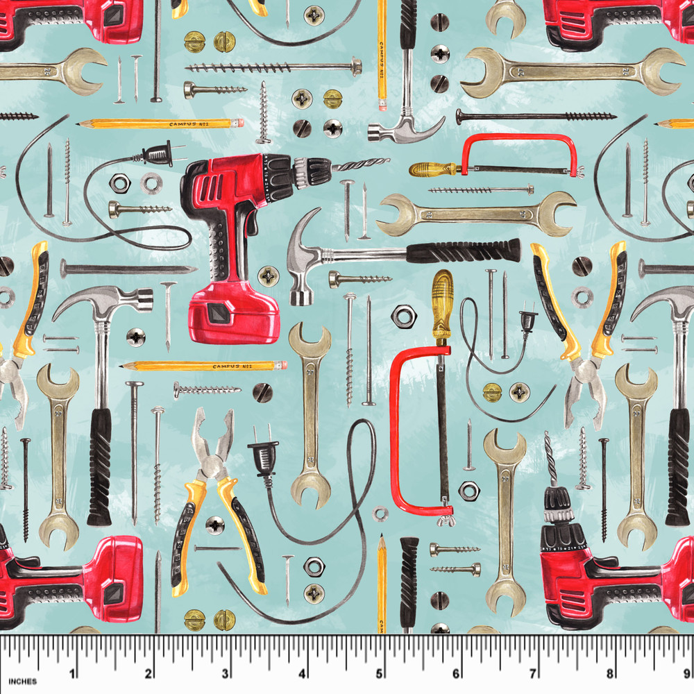 Tools knit fabric