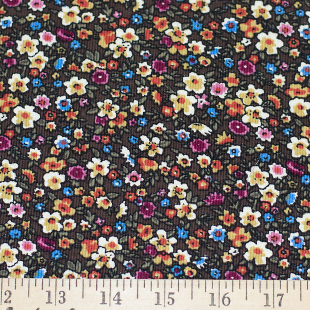 ditsy fall floral