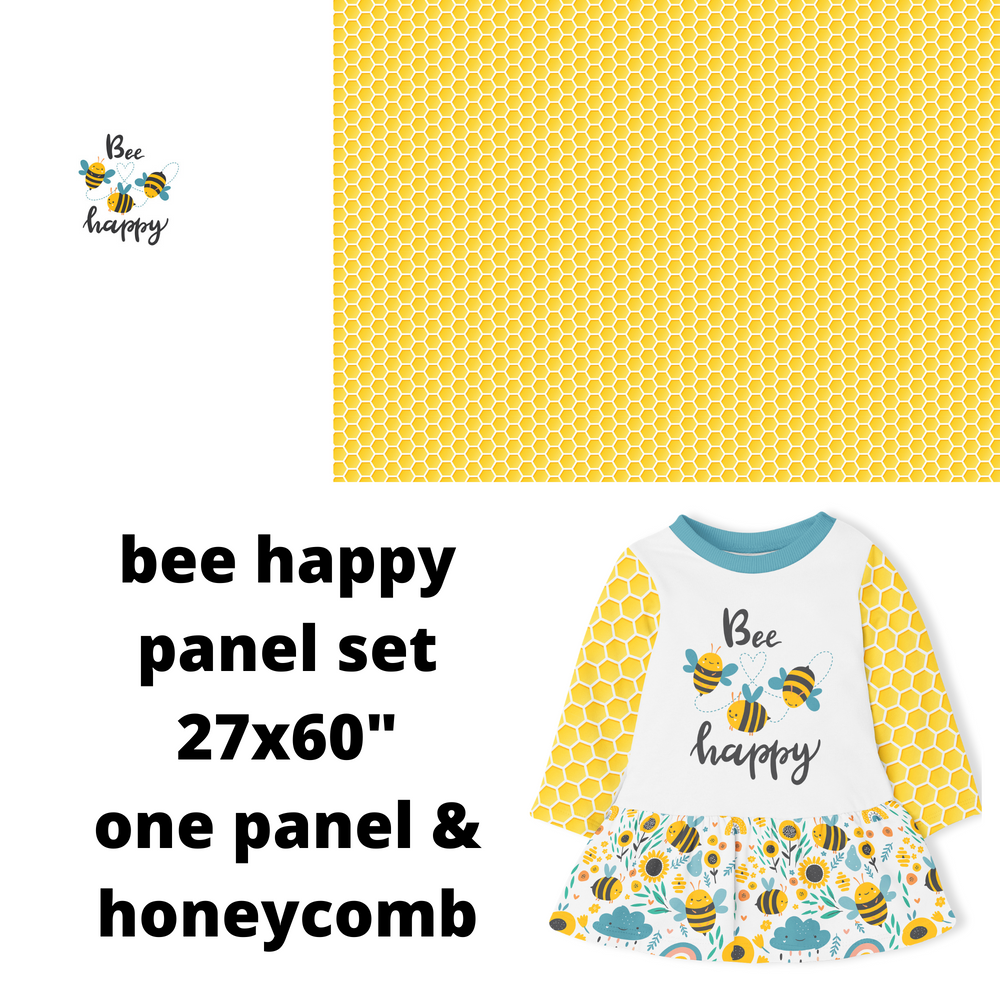 Bee Happy Panel Set