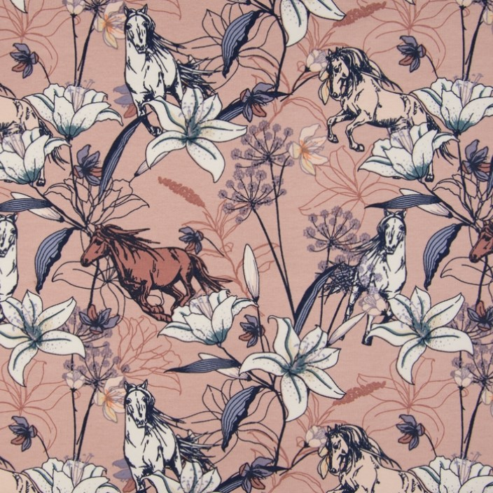 French terry  Knit fabric  Stars  fabric  Terry digital  Jersey knit  Digital print flowers  Stars fan  Unisex fabric  By half meter