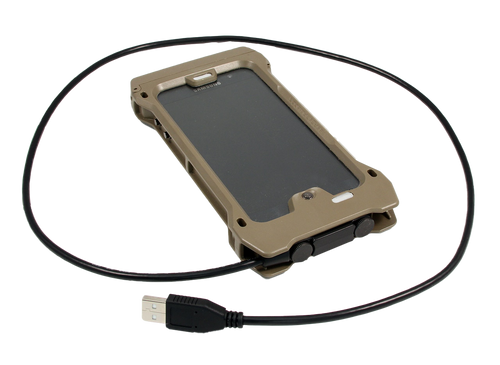 Quick Disconnect USB Charge Cable with Case
