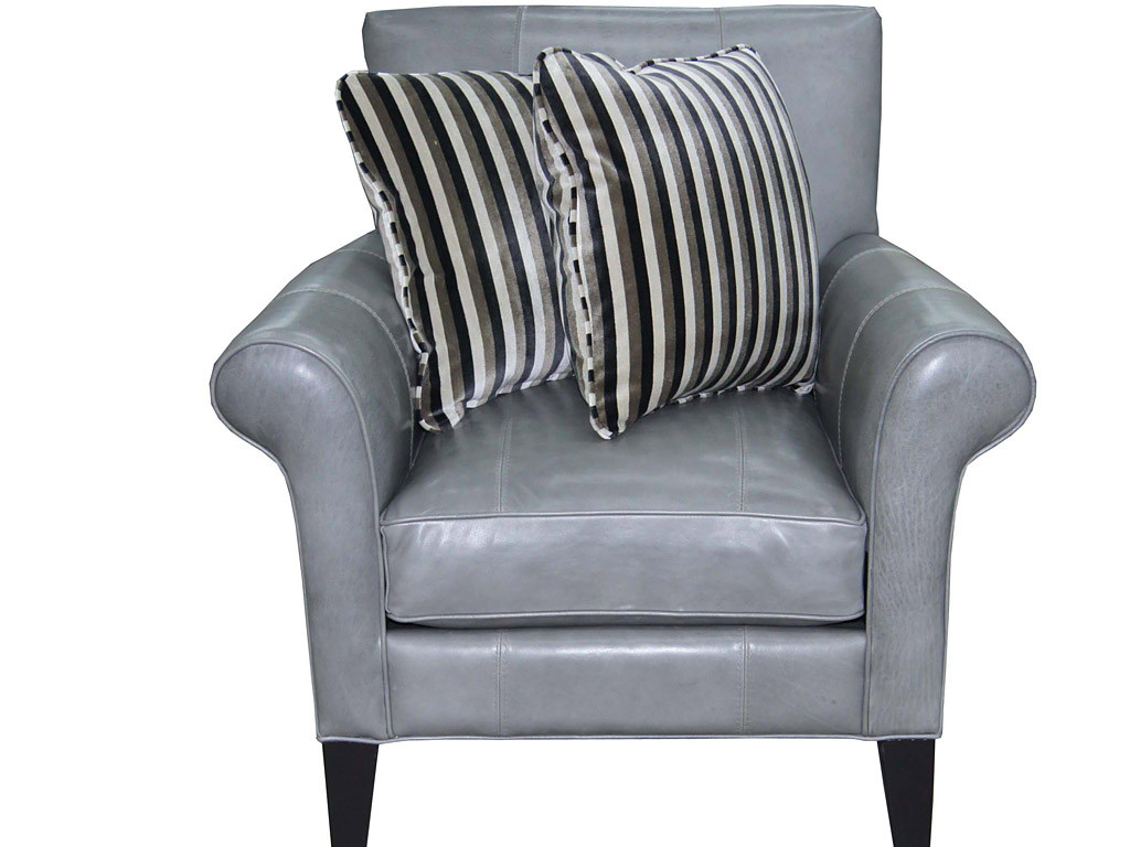 Admirable Leather Accent Chair Roys Furniture Chicago Designer Machost Co Dining Chair Design Ideas Machostcouk