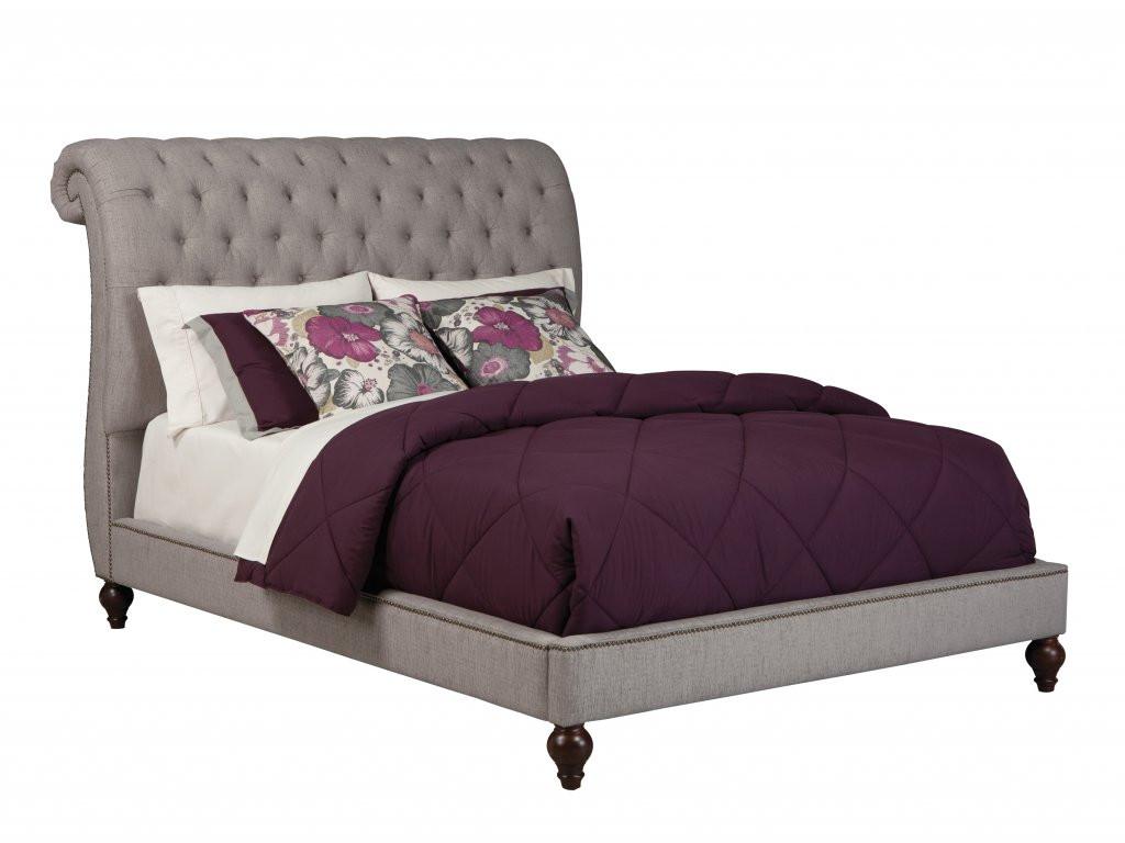 Gardenia Upholstered Queen Bed